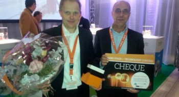 2014 - Trotse winnaar van de Agro, Food & Technology Award